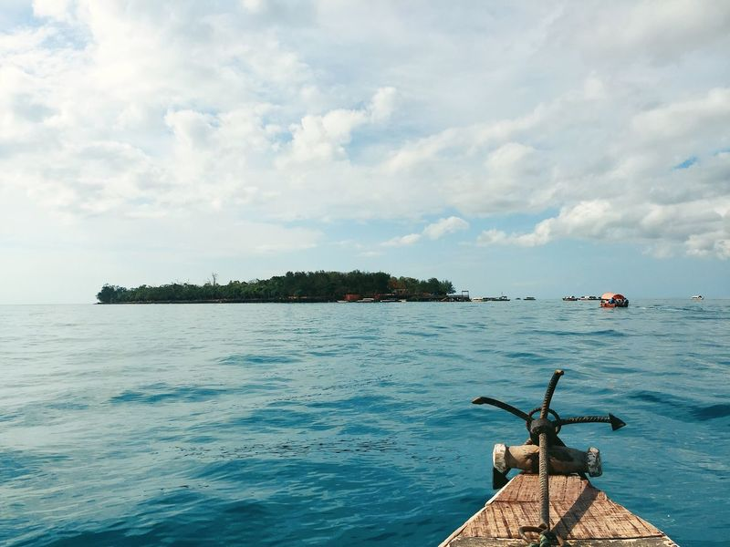 Sky Water Beauty In Nature Tranquility Island Boat Travel Travel Destinations Mbudyaisland