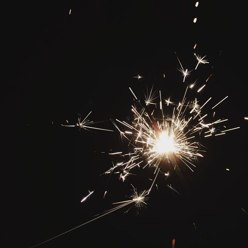 New Year's Eve Fireworks New Years Sparklers Vintage Photo Vintage Flash Bright Light Light Bright Definition Sharp EyeEmNewHere