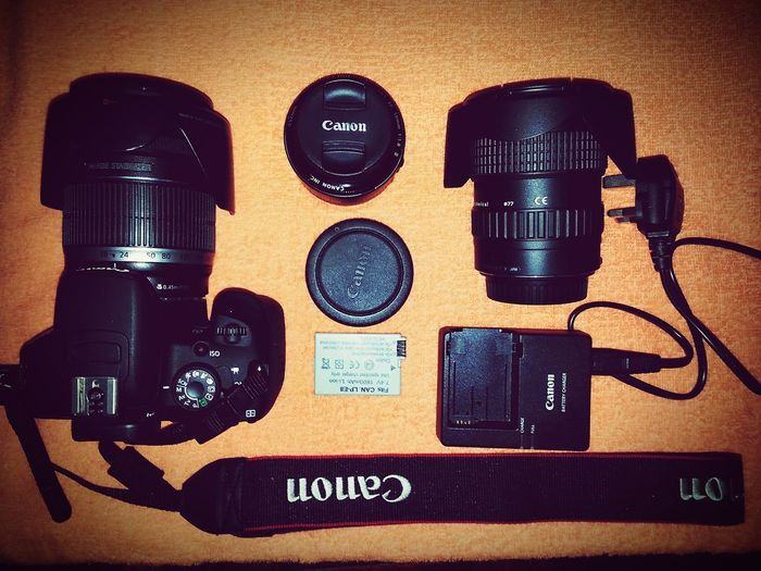 Gears are ready for tommorrow's trip. Excited mode. Canon700D 50mm F1.8 18-200mm Tokina 11-16 Mm F/2,8 Batterypack Travel Backpacking Malaysia