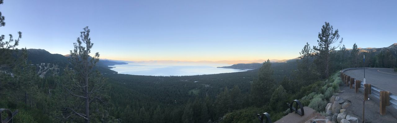 Tahoe unfiltered Sunrise Travel Outdoors Panoramic