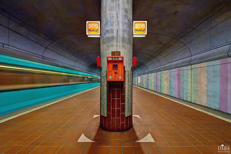 Frankfurt Am Main Rail Transportation Railroad Station Subway Subway Station Subway Train Train Transportation Undergroung