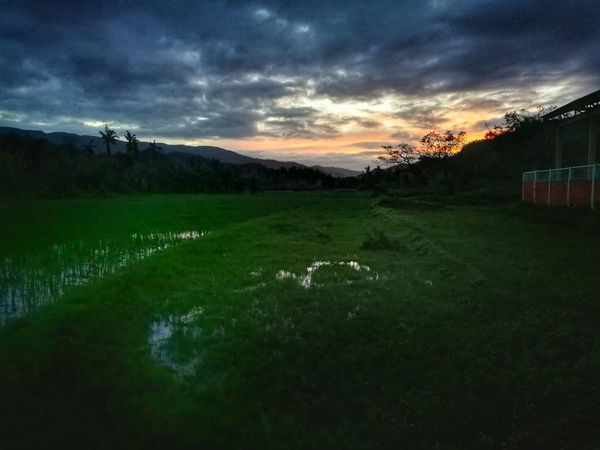 Sunset at Hupi Sunset Nature Photography Marinduque,Philippines Outdoors Beauty In Nature