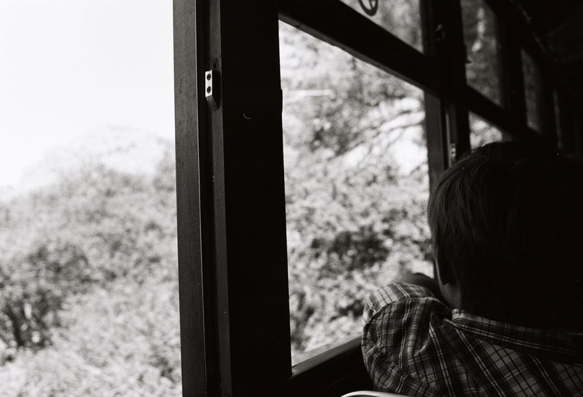 Adventure Childhood Day Longing Memories One Person Vacation Window Analogue Photography