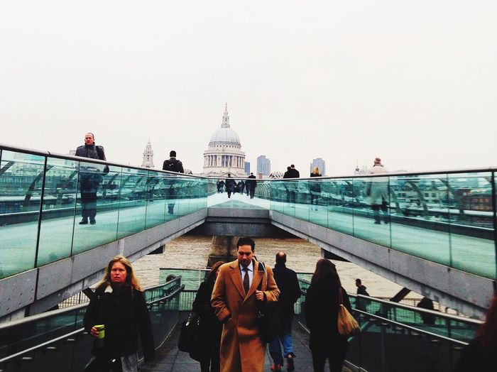 Southbank Millenium Bridge St Paul's Cathedral The Architect - 2015 EyeEm Awards The Traveler - 2015 EyeEm Awards England The Street Photographer - 2015 EyeEm Awards Architecture London Cityscapes