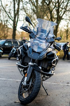 Mode Of Transport Transportation Land Vehicle Stationary Outdoors Riding Day Motorcycle No People Evening Motorcycle Racing Motorbike Rykas Winter Adventure Dorking Motorcycle BMW Motorrad Bmwgs German Expensive