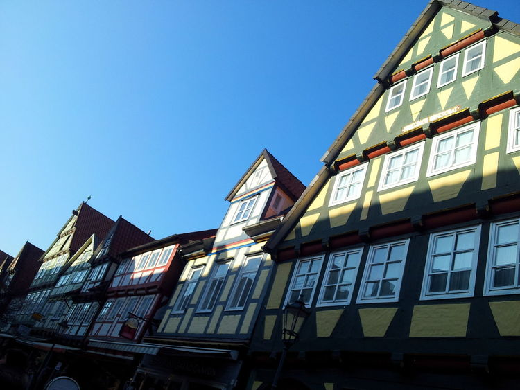 Celle Old Architecture Built Structure Clear Sky Outdoors Cityscapes City View  Building Exterior Hometown Memories EyeEmNewHere Neighborhood Map The Street Photographer - 2017 EyeEm Awards The Architect - 2017 EyeEm Awards