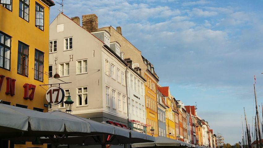 Denmark 🇩🇰 Kopenhavn City City Life Cloud - SkyStreet