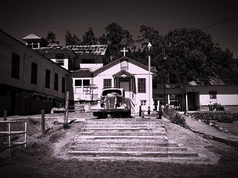 Mental Asylum Sanatorio Durán  Abandoned Places Abandoned #blackandwhite #arquitecture #building No People