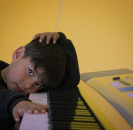 Kids Music One Person Indoors  Headshot Musician Musical Instrument People School Building Playing Young Adult One Man Only Men Only Men Adults Only Adult Close-up Day