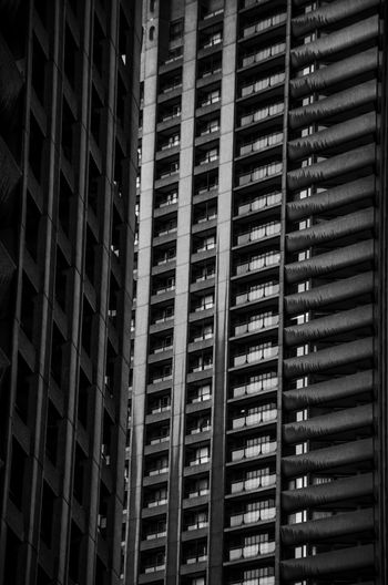 Picture of the barbican at dawn Architecture Beautiful City Of London Cool Façade Gradient Impressive Light London Low Key Reflection Wall Amazing Barbican Black And White Blackandwhite Building Concrete Concrete Jungle Fresh Old Skyscraper Sunrise Tower White