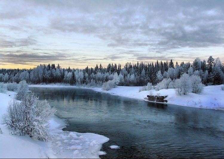 River Emtsa, Russia