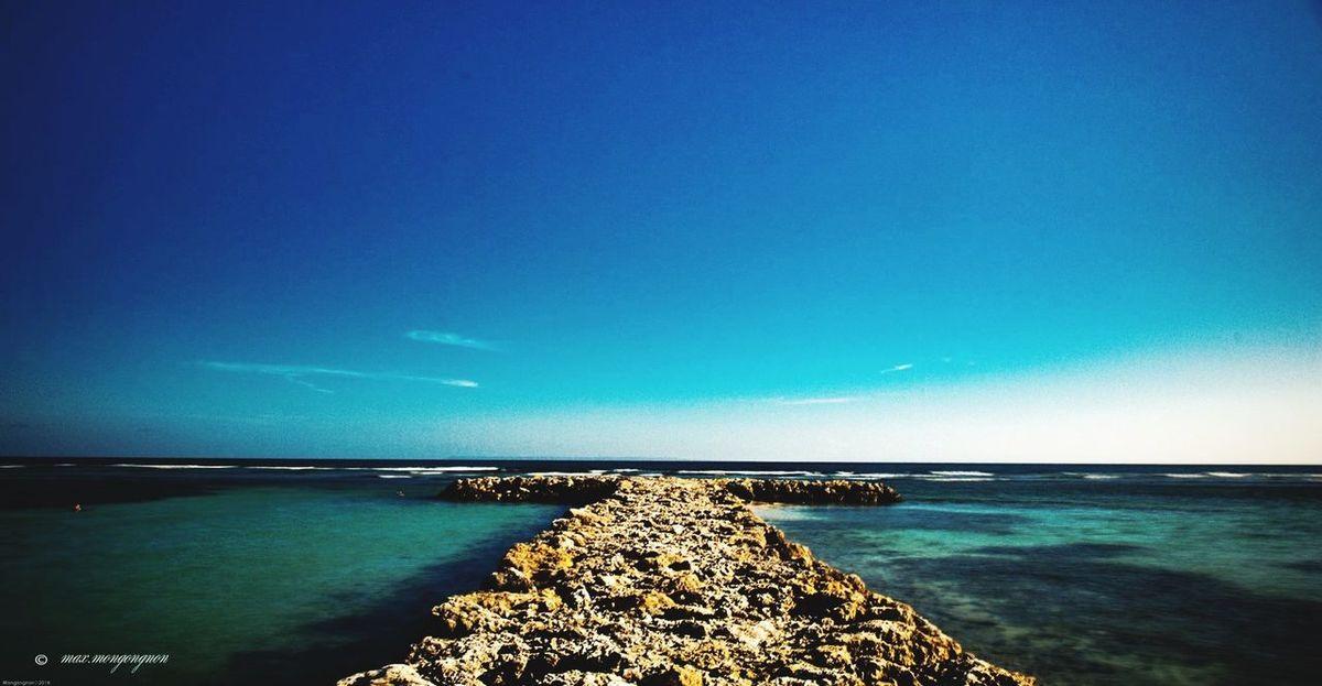 Idyllic Sea Landscape Tourism Tranquility Beach Bay Of Water Water
