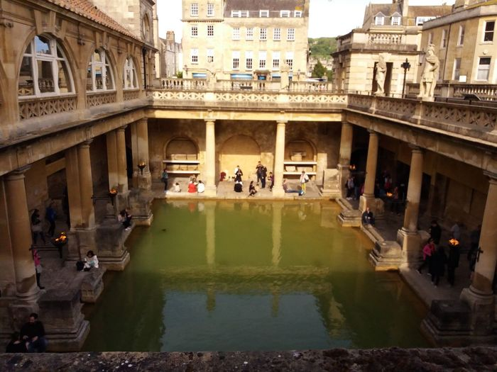 Bath Abbey  Bath, UK City Of Bath Hot Spring Hot Springs Pultney Bridge Roman Bath Roman Baths Roman Ruins
