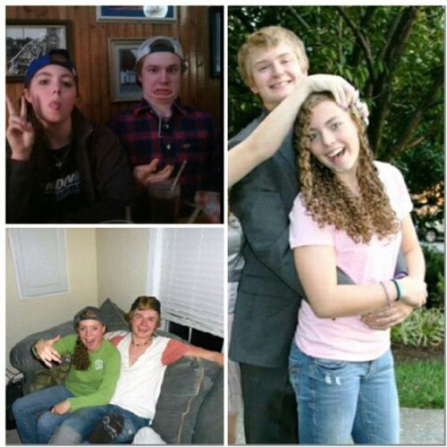 TransformationTuesday sister and boyfriend over the past year and a half or so. Truluv @j_strom10 Wut