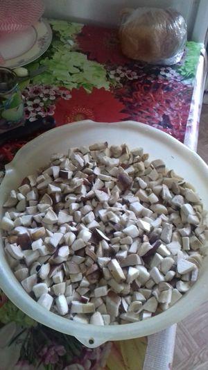 #mushrooms Mushrooms 🍄🍄 боровик Boletus Белый гриб лето грибнойсезон Fungus Nature Mushroom Mushrooms Bowl High Angle View Close-up Food And Drink