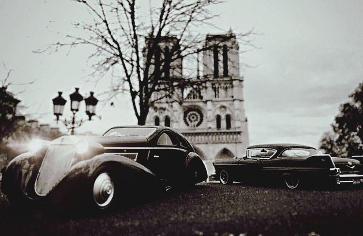 """Shot in Paris in front of """"Notre Dame"""". I just worked on the dark mood for this shot... Miniature cars always... 8cm long Car Transportation Land Vehicle Mode Of Transport Building Exterior Stationary Day No People Outdoors Sky Close-up"""