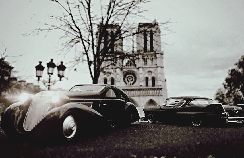 "Shot in Paris in front of ""Notre Dame"". I just worked on the dark mood for this shot... Miniature cars always... 8cm long Car Transportation Land Vehicle Mode Of Transport Building Exterior Stationary Day No People Outdoors Sky Close-up"