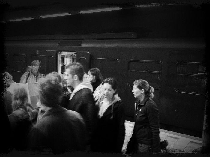Spraypainted Train