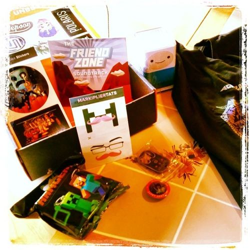Got my first Loot Crate today! Boom! Lootcrate Loot Lootcratemay2014 Itsthelittlethings