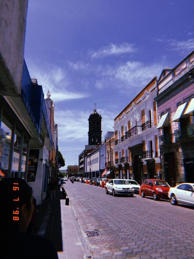 Mexico Donwtown Puebla Architecture City Street Street City Building First Eyeem Photo