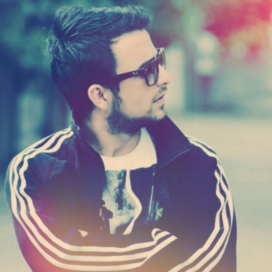 Street BeFunky Effects Cool handsome hairstyle adidas threeline black summer rayban glass