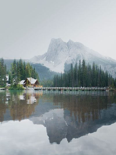 Emerald Lake, BC, Canada Explore Yoho National Park British Columbia Emerald Lake Canada Reflection Mountains Mountain Mountain Range Reflection Water Sky Mountain Beauty In Nature Lake Stay Out Scenics - Nature Waterfront Tranquility Nature Day Tree Plant Tranquil Scene