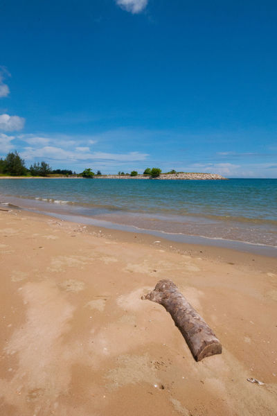 Jerudong beach during hot day Beach Beauty In Nature Brunei Darussalam Day Horizon Over Water Jerudong Nature No People Outdoors Sand Scenics Sea Sky Water