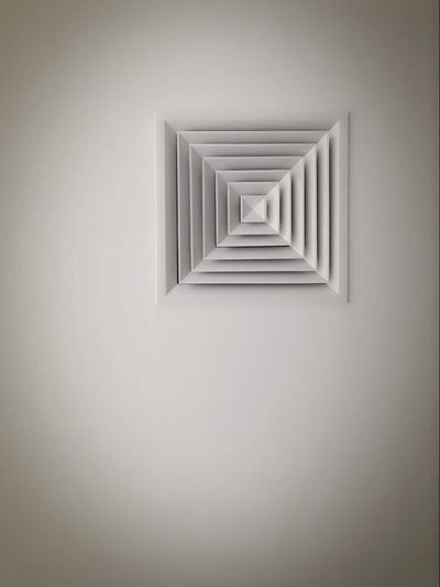 Architecture Geometry Indoors  Brushed Metal Close-up Aircon Aircondition Breathe Easy Coolin It