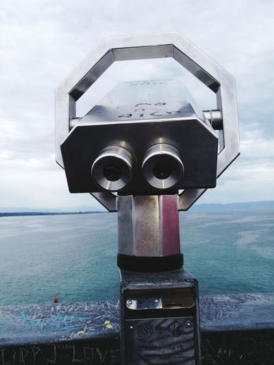 Friedrichshafen Water Coin-operated Binoculars No People Sky Outdoors Sea Friedrichshafen Bodensee Lake Constance Nature Day Travel Destinations The Week On EyeEm Lost In The Landscape