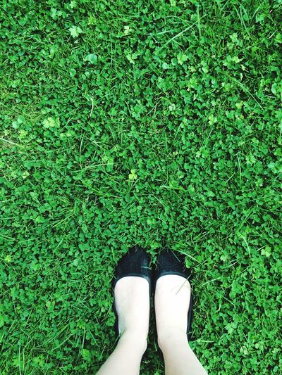 I love nature :) Grass Shoes Green