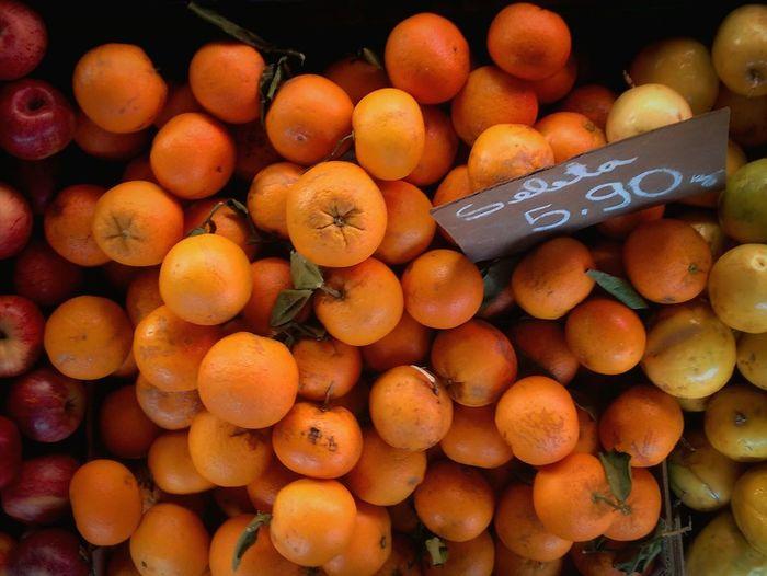 Organic Food Orange Apple Organic Markets Market Passionfruit Fruit