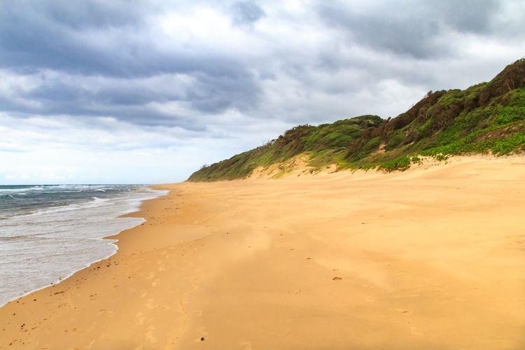Kwa-Zulu Natal Africa Beach Beauty In Nature Cloud - Sky Day Horizon Over Water KwaZulu-Natal Coast Nature No People Outdoors Sand Scenics Sea Sky Tranquil Scene Tranquility Water