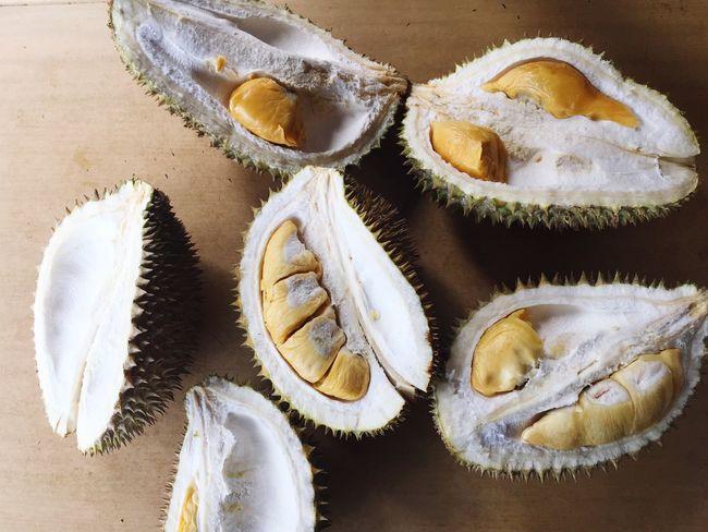 Mobilephotography Fruits Durian EyeEm Gallery Eyeem Singapore EyeEmBestPics EyeEm Selects High Angle View Food And Drink Food No People Indoors  California Dreamin