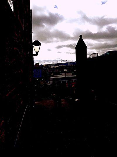 Edinburgh Sky Frame Urban Photography Cityscapes
