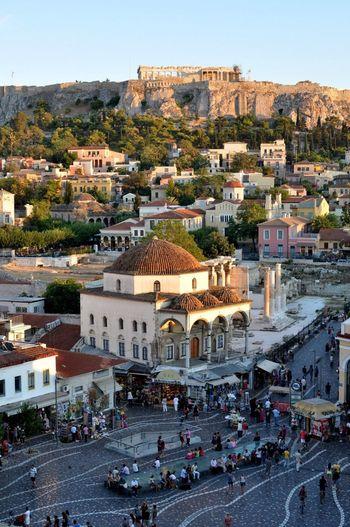 Athens Greece Monastiraki Enjoying The View