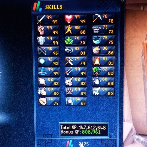 Its been a while since I dont update my stats so here it is, got 92 pray today c: Runescape3 Runescape Happyscaping