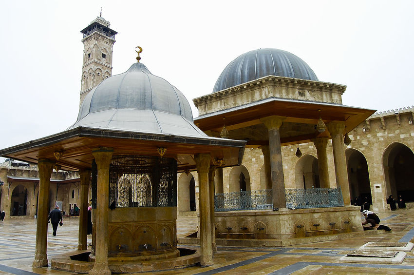 The Great Mosque of Aleppo (2010) - Syria Great Mosque Of Aleppo Mosque Of Aleppo Syria  Aleppo Built Structure Islam Mosque Place Of Worship Religion