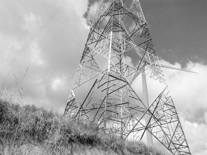 Antenna. Cloud