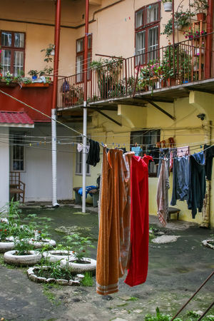 Architecture Building Exterior Built Structure City Cloth Clothesline Clothing Day Drying Hanging Laundry No People Outdoors Street Photography Streetphotography