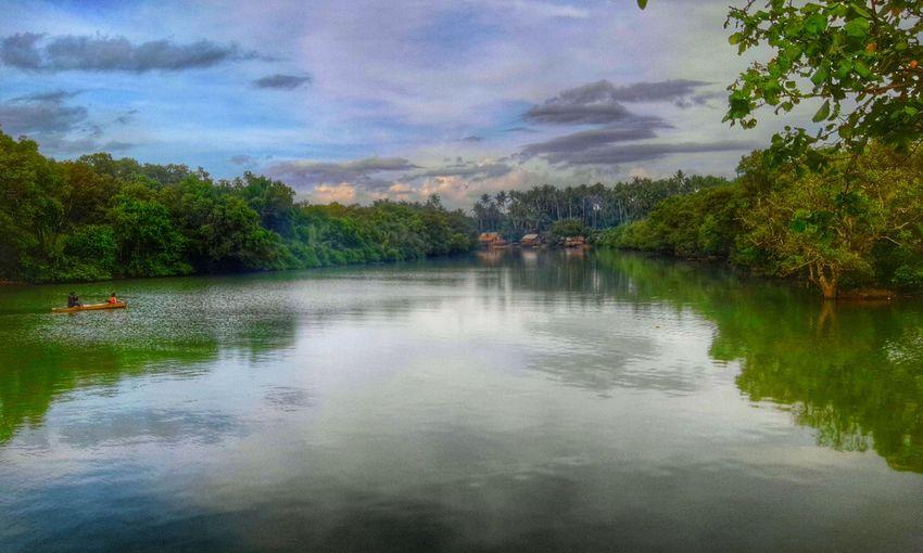 River Fishing Village Summer Travel