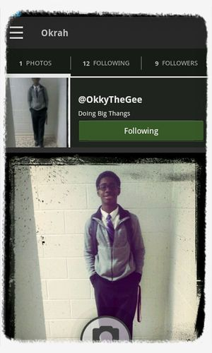 AYYE GO FOLLOW MY BRUVAH FOR ME HE'LL FOLLOW BACK