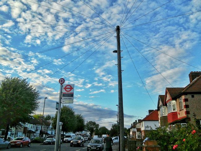 """""""Great things in store, blessings on the way """" 💗 Beautiful View Photooftheday Skyscape Streetphoto_color Sky And Clouds LONDON❤ United Kingdom Roadscenes Walk This Way"""