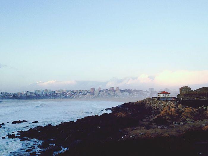 Onde o Rio Douro se junta ao Oceano Atlântico. Taking Photos Enjoying Life Sea