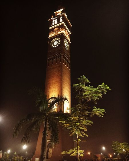 Hussainabad Clock Tower Ancient Historical Building