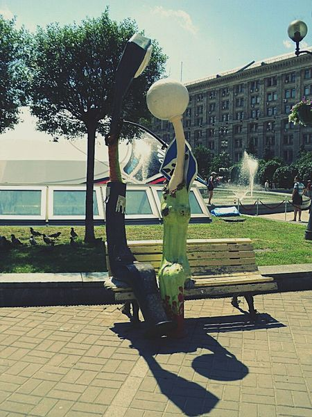 Kiev Ukraine Urban 4 Filter Taking Photos Street Photography Sculpture Art, Drawing, Creativity Pastel Power Q