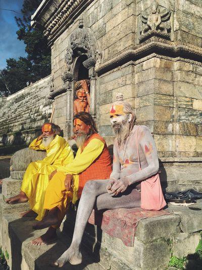 Snap A Stranger Sadhu Pashupatinath Kathmandu