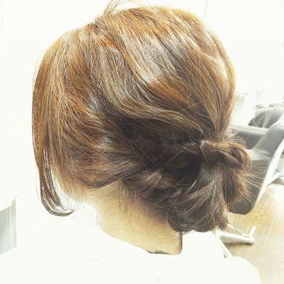 ヘア アレンジ アレンジヘア 心斎橋 美容室 Hairsalon