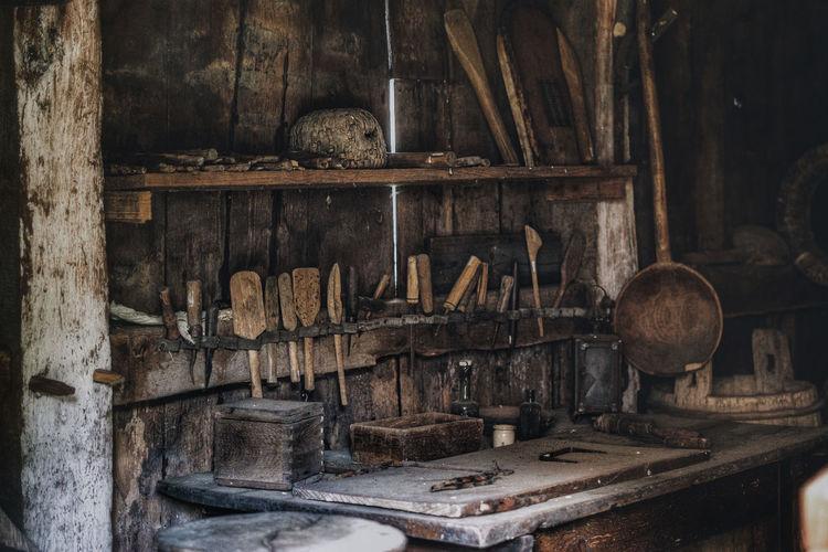 Old beekeepers workshop