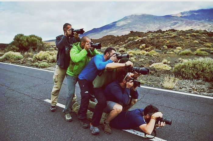 Togetherness Road Adult Mountain Friendship Leisure Activity Road Trip