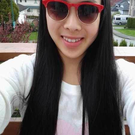 Well it WAS sunny 2 minutes ago. Ootd Cqcstyle Cqcwin @coquitlamcentre Sunnies heartsweater